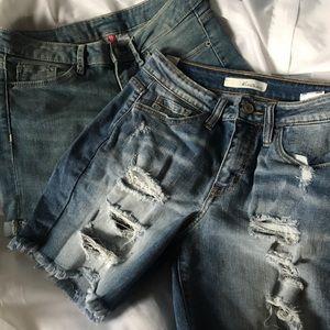 Waisted shorts bundle